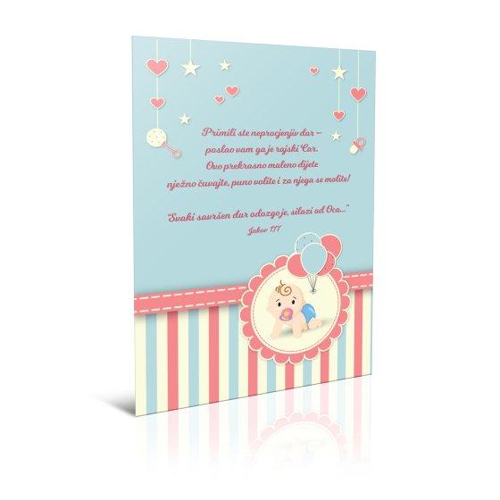 Čestitka - Primili ste neprocjenjiv dar
