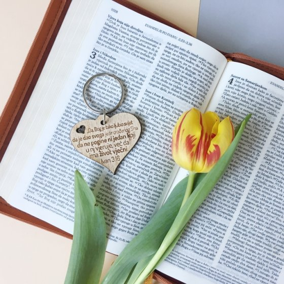 Privjesak - Bog je tako ljubio svijet