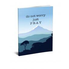 Bilježnica A5 - Just pray