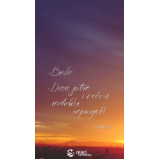 Pozadina - Bože, dveri jutra i večeri radošću napunjaš