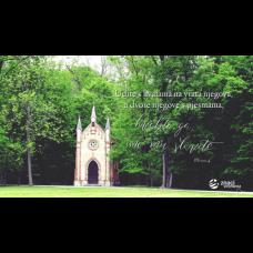 Pozadina - Uđite s hvalama na vrata njegova