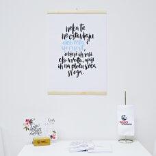 Poster - Dobrota i vjernost, plava