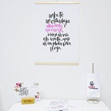 Poster - Dobrota i vjernost, roza