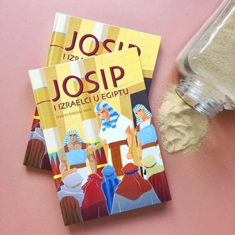 """Ukoliko tek trebaju upoznati uistinu poseban biblijski izvještaj o Josipu, nova dječja knjiga u našoj ponudi nazvana """"Josip i Izraelci u Egiptu"""" na prekrasan će im."""