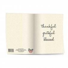 Bilježnica A5 - Thankful, grateful, blessed