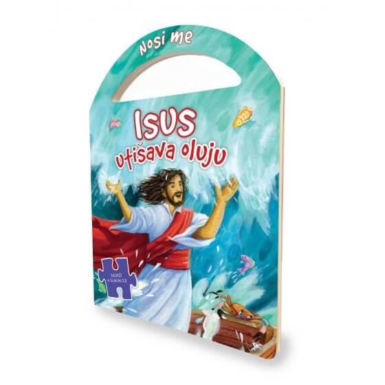 "Slagalice ""Nosi me"" - Isus utišava oluju"