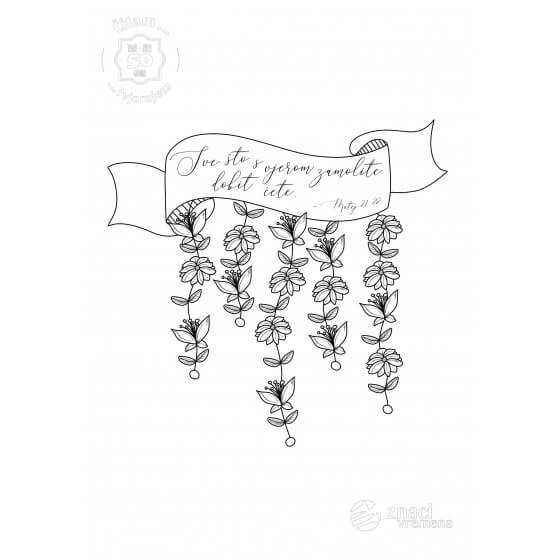 Bojanka - Sve što s vjerom zamolite dobit ćete