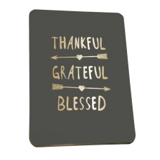 Magnet - Thankful, Grateful, Blessed
