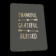 Magnet - Thankful, Grateful, Blessed