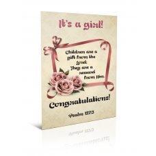 Čestitka - It's a girl!