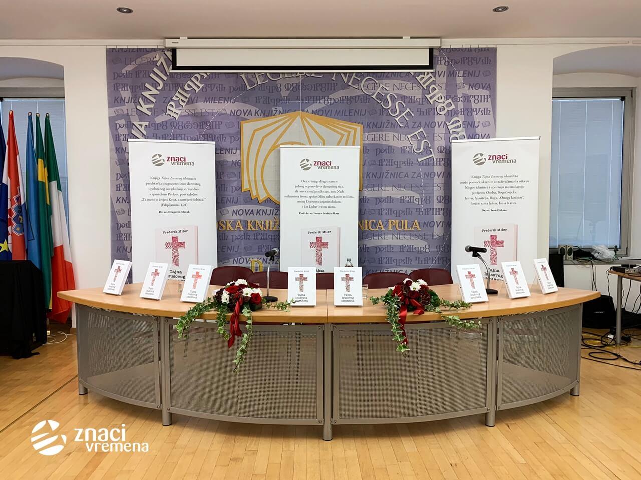 Pulska promocija knjige TAJNA ISUSOVOG IDENTITETA