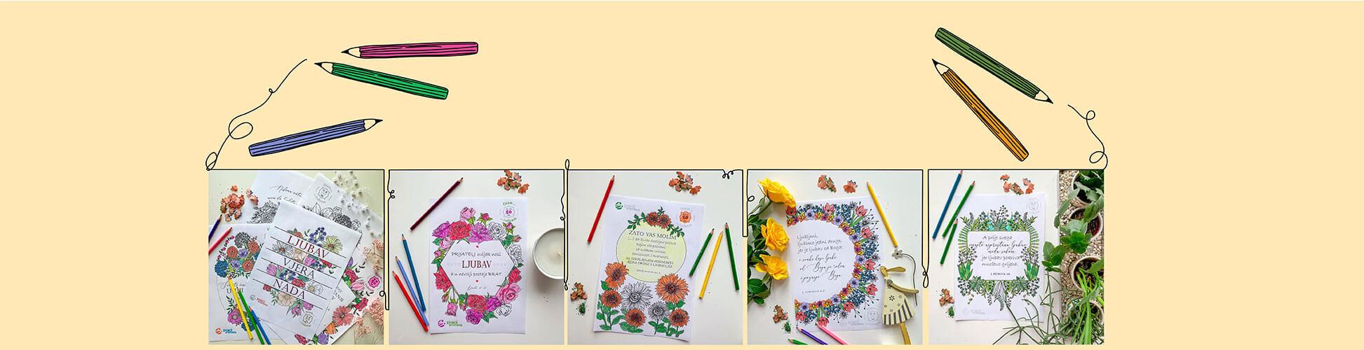 Bojite ilustracije s prekrasnim stihovima